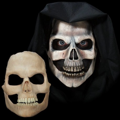 Skull Face Foam Latex Prosthetic