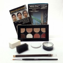 Mehron Mini-Pro Student Makeup Kit - Fair/Olive Fair