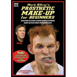 Prosthetic Makeup for Beginners - DVD