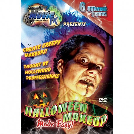 halloween makeup made easy dvd