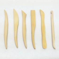 Clay Sculpting Wooden Tool Set