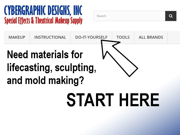 Buy materieals for lifecasting, sculpting, and mold making.